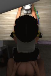 1boy 1girl 3d age_difference animated animated_gif ass barefoot bent_over black_hair clothed_female_nude_male clothed_sex dark doggystyle flat_chest from_above hekovic hetero indoors loli nude penis pov skirt skirt_around_belly skirt_lift socks tagme twintails vaginal rating:Explicit score:43 user:tartsvart