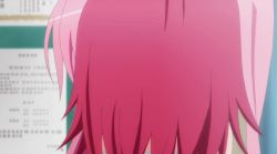 10s 2girls animated animated_gif embarrassed kurosaki_mea multiple_girls nana_asta_deviluke pink_hair purple_eyes school_uniform screencap short_hair subtitles to_love-ru to_love-ru_darkness trees turning rating:Safe score:13 user:Lakshun