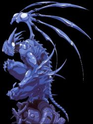 90s creature genocyber monster ohata_koichi oldschool wings
