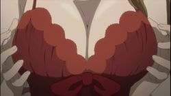 2girls akiha_rumiho animated animated_gif breasts cleavage kiryuu_moeka multiple_girls steins;gate steins;gate_0 yuri rating:Explicit score:14 user:League_Of_Bitches