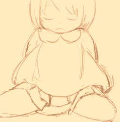 1girl animated animated_gif arm_support arms_behind_back censored dildo eyes_closed female feral_lemma insertion kneeling leaning_back loli lowres monochrome no_panties object_insertion pleated_skirt pussy sitting skirt solo vaginal wariza rating:Explicit score:9 user:Gaudy