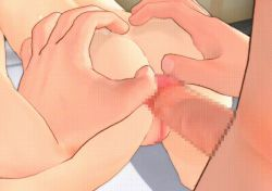 14rabbits 1boy 1girl 3d age_difference anal animated animated_gif black_hair censored flat_chest loli nude penis sex rating:Explicit score:31 user:dark_bark