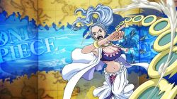 alabasta angry blue_hair breasts looking_at_viewer nefertari_vivi one_piece tagme rating:Safe score:8 user:Ruffy16