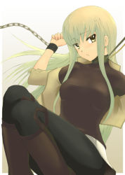 00s bdsm bondage bound c.c. chains code_geass collar cuffs konekonekozou leash leggings pantyhose yukari_(konekonekozou) rating:Safe score:8 user:danbooru