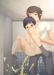 ass assisted_peeing axis_powers_hetalia bathroom greece_(hetalia) japan_(hetalia) nude peeing shota socks tears yaoi rating:Explicit score:36 user:Chikita
