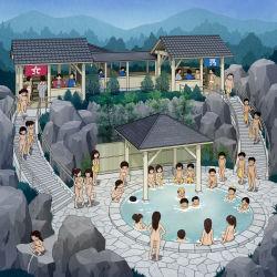 bathing covering covering_crotch erection highres kiyo_(kyokyo1220) loli multiple_boys multiple_girls nipples nude original peeing penis pool shota tagme undressing rating:Explicit score:54 user:Gaudy