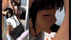 1boy 1girl 3d age_difference animated animated_gif black_hair fellatio flat_chest hekovic loli oral penis school_uniform tagme rating:Explicit score:24 user:tartsvart