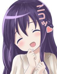 1girl gochuumon_wa_usagi_desu_ka? highres purple_hair sin_(kami148) tagme tedeza_rize