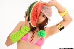 1girl asian nipples photo see-through solo tagme