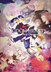 2girls 6+boys alternate_hairstyle aqua_(kingdom_hearts) axel black_hair blue_eyes blue_hair brown_hair chain_necklace cloak dual_persona eyes_closed facial_mark fingerless_gloves gloves green_eyes hj1896 kingdom_hearts kingdom_hearts_3d_dream_drop_distance multiple_boys multiple_girls red_hair riku roxas short_hair silver_hair sora_(kingdom_hearts) terra_(kingdom_hearts) ventus wristband xion_(kingdom_hearts)