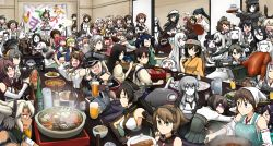 >_< +_+ 6+girls =_= ahoge aircraft_carrier_oni airfield_hime akagi_(kantai_collection) akashi_(kantai_collection) akitsu_maru_(kantai_collection) alcohol alternate_color alternate_costume anchorage_oni anger_vein apron arm_around_shoulder arm_up armored_aircraft_carrier_oni artist_name ashigara_(kantai_collection) bad_food bare_shoulders battleship-symbiotic_hime beer beer_mug bismarck_(kantai_collection) black_hair blonde_hair blush bottle bow brown_hair cape character_request chikuma_(kantai_collection) chopsticks cloak curry detached_sleeves drinking_glass drooling drunk eating empty_eyes fang fingerless_gloves floating_fortress_(kantai_collection) food forehead_protector fork glasses glint gloves green_hair grin hair_between_eyes hair_bow hair_ornament hair_ribbon hairband hamu_koutarou hand_on_another's_head hand_on_another's_shoulder haruna_(kantai_collection) harusame_(kantai_collection) hat hat_ribbon headband hiei_(kantai_collection) hiryuu_(kantai_collection) hiyou_(kantai_collection) houshou_(kantai_collection) i-168_(kantai_collection) i-19_(kantai_collection) i-401_(kantai_collection) i-58_(kantai_collection) i-8_(kantai_collection) instrument irako_(kantai_collection) isolated_island_oni japanese_clothes japanese_flag jintsuu_(kantai_collection) jun'you_(kantai_collection) kaga_(kantai_collection) kantai_collection kariginu kirishima_(kantai_collection) kiso_(kantai_collection) knife kongou_(kantai_collection) long_hair long_ponytail looking_back looking_to_the_side magatama mamiya_(kantai_collection) maru-yu_(kantai_collection) microphone midway_hime military military_uniform multiple_girls murasame_(kantai_collection) musashi_(kantai_collection) mutsu_(kantai_collection) nachi_(kantai_collection) nagato_(kantai_collection) naka_(kantai_collection) nanodesu_(phrase) no_eyes northern_ocean_hime o_o ooyodo_(kantai_collection) open_mouth outstretched_arm outstretched_hand patting_head pauldrons pouring re-class_battleship rensouhou-chan ribbon ru-class_b