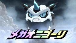 animated animated_gif battle mega_glalie mega_pokemon mega_steelix no_humans pokemon pokemon_oras