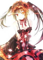 1girl date_a_live extraction simple_background solo tagme tokisaki_kurumi transparent_background