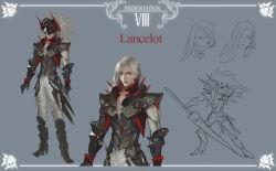 absurdres highres lancelot_(quaanqin) pixiv_fantasia pixiv_fantasia_t quaanqin red_eyes white_hair