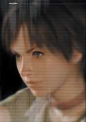 1girl 3d brown_hair rebecca_chambers render resident_evil scan short_hair tagme
