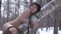 animated animated_gif asian bdsm bondage cold japanese leash lowres nude photo rope snow source_request trembling