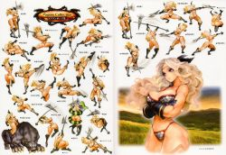 1girl amazon amazon_(dragon's_crown) animal ass attack axe beast bikini blonde_hair blue_eyes body_markings boots breasts casting coiled concept_art crouching curvy dragon's_crown falling feather female gloves grass helpless highres hips holding_weapon injury japanese jumping kick large_breasts laying legs midriff official_art poses riding running simple_background sky slender_waist sliding snake snake_bondage solo spread_legs standing swimsuit tagme thick_thighs thighs vanillaware walking weapon white_background