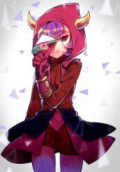 1girl artist_request female heart-shaped_pupils kagari_(pokemon) kagari_(pokemon)_(remake) nintendo pokemon solo symbol-shaped_pupils uniform