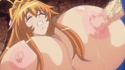 animated animated_gif anrietta_(buta_no_gotoki) areolae bouncing_breasts breast_press breasts buta_no_gotoki_sanzoku_ni_torawarete_shojo_o_ubawareru_kyonyuu_himekishi_&_onna_senshi:_zettai_chinpo_nanka_ni_maketari_shinai!!_the_animation censored erect_nipples erectlip gigantic_breasts humiliation lactation nipple_penetration nipples nude penis rape sex