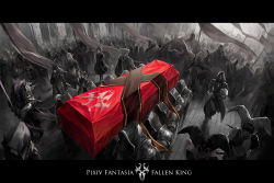 borrowed_character coffin commentary_request copyright_name kzcjimmy pixiv_fantasia pixiv_fantasia_fallen_kings spot_color