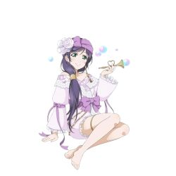 bubble_blowing instrument love_live!_school_idol_project official_art toujou_nozomi trumpet