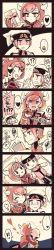 1boy 1girl artist_request comic female hetero hug kagari_(pokemon) kagari_(pokemon)_(remake) nintendo pokemon uniform yuuki_(pokemon)