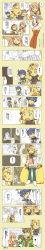 absurdres comic fern_burnette highres lapse_rapunzel long_image pixiv_fantasia pixiv_fantasia_4 tall_image translation_request yumi_(yupopi)