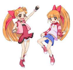 akatsutsumi_momoko cartoon_network hyper_blossom loli panties powerpuff_girls powerpuff_girls_z underwear