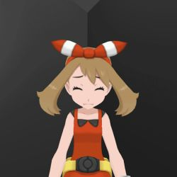 animated animated_gif bracelet brown_hair eyes_closed haruka_(pokemon) haruka_(pokemon)_(remake) pokemon pokemon_(game) pokemon_oras pov ribbon