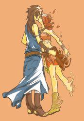 asuka_(hime-maru) final_fantasy final_fantasy_xiii kiss oerba_dia_vanille oerba_yun_fang yuri