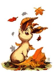 absurdres highres leafeon no_humans pokemon pokemon_(creature) withered