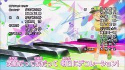 1girl alternate_costume animated animated_gif baseball_cap bespectacled clothed_pokemon glasses midriff pancham pokemon pokemon_(anime) serena_(pokemon) smile suspenders wristband