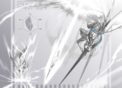 armor bythne_raq_e_argnes hexahydrate original pixiv_fantasia pixiv_fantasia_t weapon