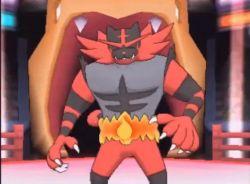 animated animated_gif incineroar pokemon pokemon_sm