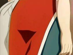 1girl animated animated_gif ass ass_grab ass_shake green_eyes haruno_sakura long_hair naruto pink_hair