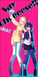 2girls big_hero_6 disney gogo_tomago honey_lemon lonelyethyl marvel multiple_girls