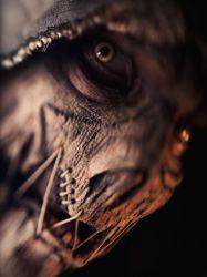 1boy batman_(series) cosplay dc_comics hood male_focus mask matt_sprunger photo scarecrow_(dc) solo