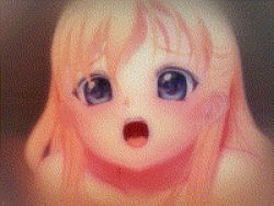 1boy 1girl 3d all_fours animated animated_gif blonde_hair blue_eyes blush breasts doggystyle girl_on_top imouto_ecchi_01 loli missionary nude penis riding sex small_breasts studio_murakaba tongue_out vaginal