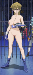 blonde_hair breasts large_breasts nude nude_filter pussy tenjouin_asuka uncensored yu-gi-oh!_arc_v