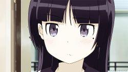 1girl animated animated_gif gokou_ruri ore_no_imouto_ga_konna_ni_kawaii_wake_ga_nai tagme watermark