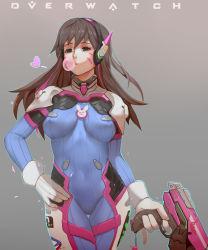 1girl ass gun overwatch solo weapon