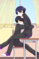 2boys child hug male motw1130 multiple_boys yaoi