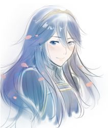 blue_eyes blue_hair fire_emblem fire_emblem:_kakusei hairband lips long_hair lucina portrait smile tusia