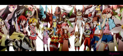 6+girls amano_nene angewomon cho-hakkaimon cutemon digimon digimon_adventure digimon_adventure_02 digimon_frontier digimon_savers digimon_tamers digimon_xros_wars digimon_xros_wars:_toki_wo_kakeru_shounen_hunter-tachi fujieda_yoshino garudamon glasses gloves hat helmet inoue_miyako lilamon lillymon long_hair makino_ruki mask multiple_girls orimoto_izumi purple_eyes purple_hair red_eyes short_hair shutumon silphymon smile sparrowmon suzaki_airu tachikawa_mimi tagme takenouchi_sora taomon twintails yagami_hikari