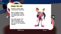 character_profile rouge_the_bat sonic_generations sonic_the_hedgehog tagme