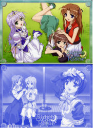 feena_fam_earthlight maid multiple_girls tagme