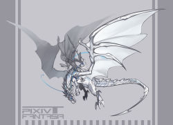 armor bythne_raq_e_argnes dragon hexahydrate original pixiv_fantasia pixiv_fantasia_t weapon