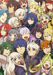 blue_eyes blue_hair cynthia_(fire_emblem) fire_emblem fire_emblem:_kakusei krom lucina mark_(fire_emblem) multiple_boys multiple_girls my_unit nintendo red_hair sumia tharja tiamo twintails white_hair