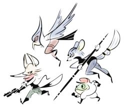 adam_vian falco_lombardi fox_mccloud gun krystal nintendo slippy_toad staff star_fox weapon