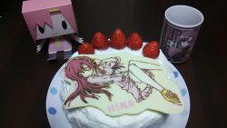 cake food hayate_no_gotoku! katsura_hinagiku mug strawberry